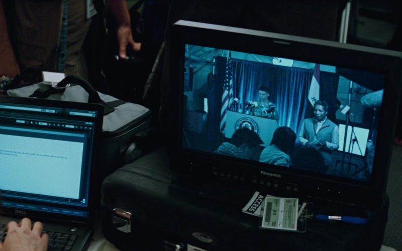 Dell Notebook and Panasonic Monitor in The A-Team