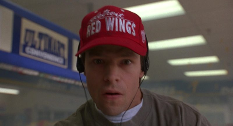 Detroit Red Wings Cap in Grosse Pointe Blank (1997) - Movie Product Placement