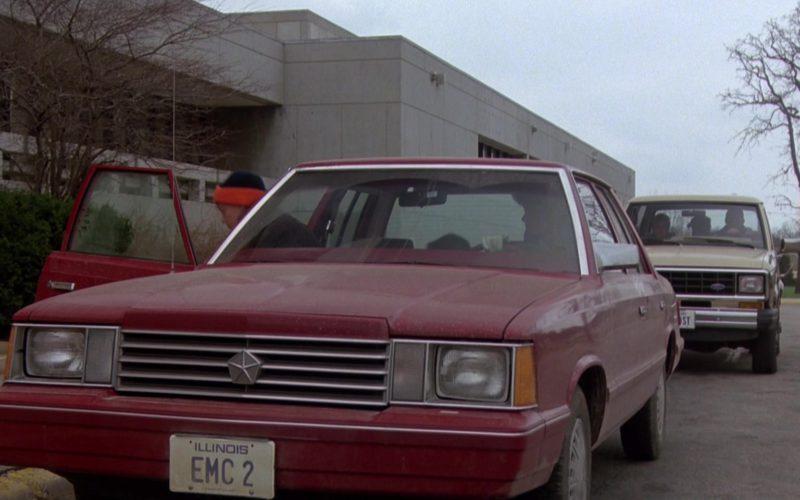 Dodge Aries K Car in The Breakfast Club