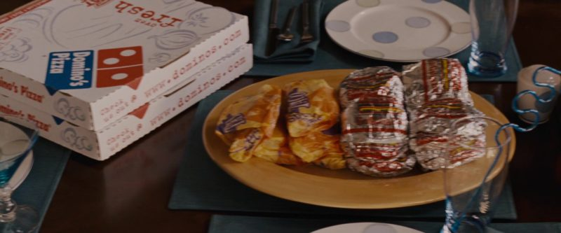 Domino's Pizzas in Talladega Nights: The Ballad of Ricky Bobby (2006) - Movie Product Placement