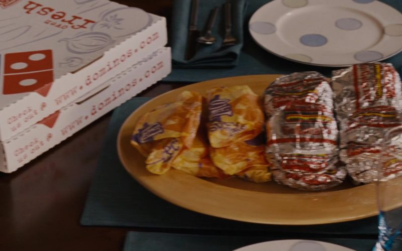 Domino's Pizzas in Talladega Nights The Ballad of Ricky Bobby (1)