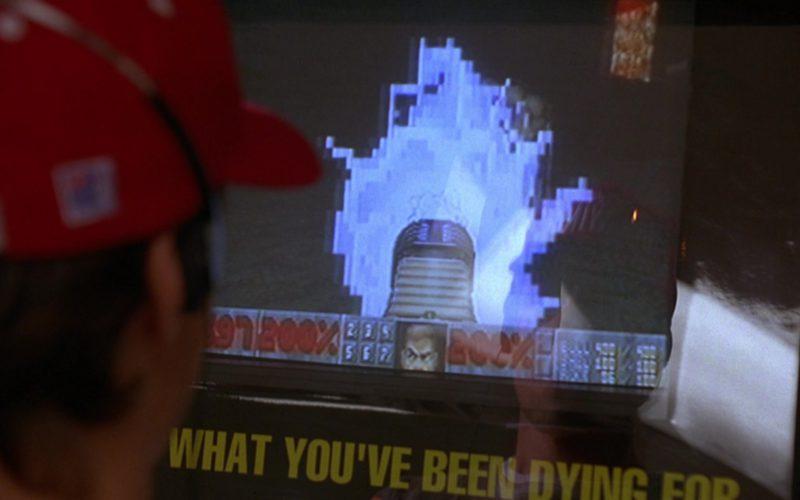 Doom II Video Game Arcade Machine in Grosse Pointe Blank (1)