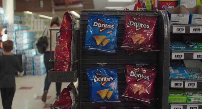 Doritos Cool Ranch and Spicy Nacho Chips in Dark Was the Night (2018) - Movie Product Placement