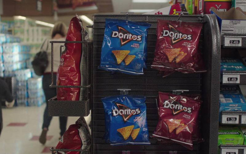 Doritos Chips in Dark Was the Night