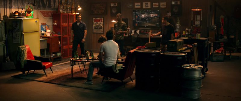 Dos Equis XX Special Lager and Nike Shoes Worn by Aaron Paul in Need for Speed (2014) Movie Product Placement