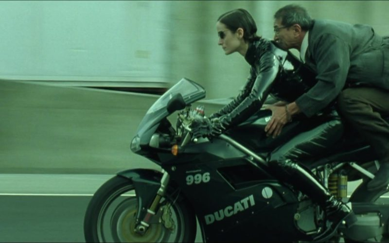 Ducati 996 Motorcycle in The Matrix Reloaded (16)