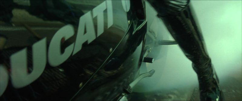 Ducati 996 Motorcycle in The Matrix Reloaded (2003) - Movie Product Placement