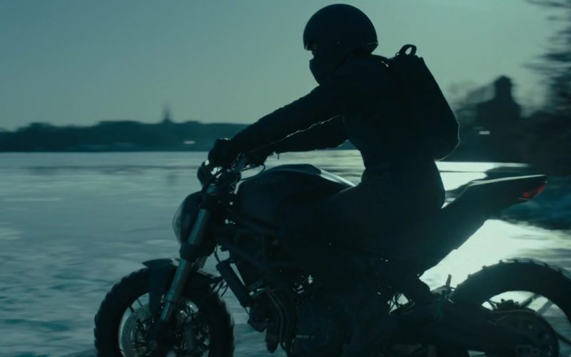 Ducati Monster Motorcycle Used by Claire Foy in The Girl in the Spider's Web (5)