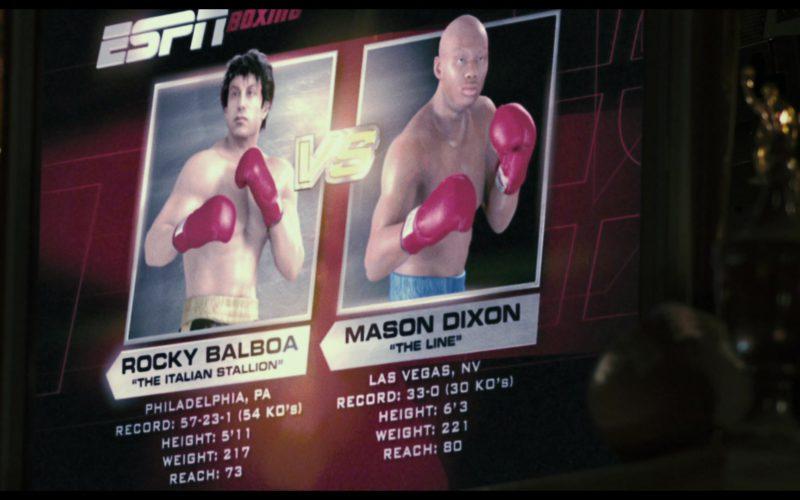 ESPN Boxing in Rocky Balboa (1)