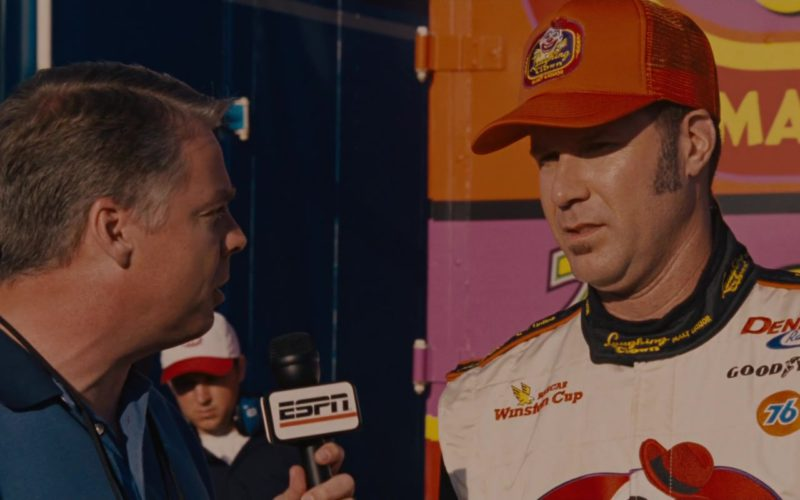 ESPN TV Channel in Talladega Nights The Ballad of Ricky Bobby (2)