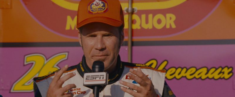 ESPN TV Channel in Talladega Nights: The Ballad of Ricky Bobby (2006) Movie Product Placement