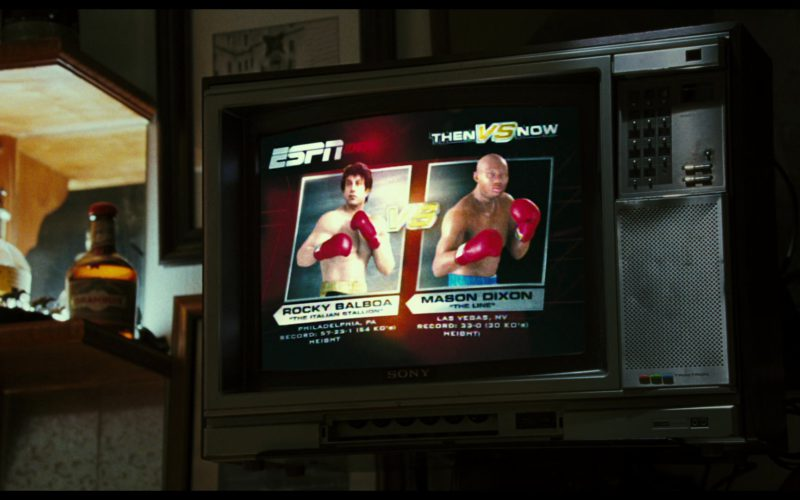 ESPN and Sony TV in Rocky Balboa