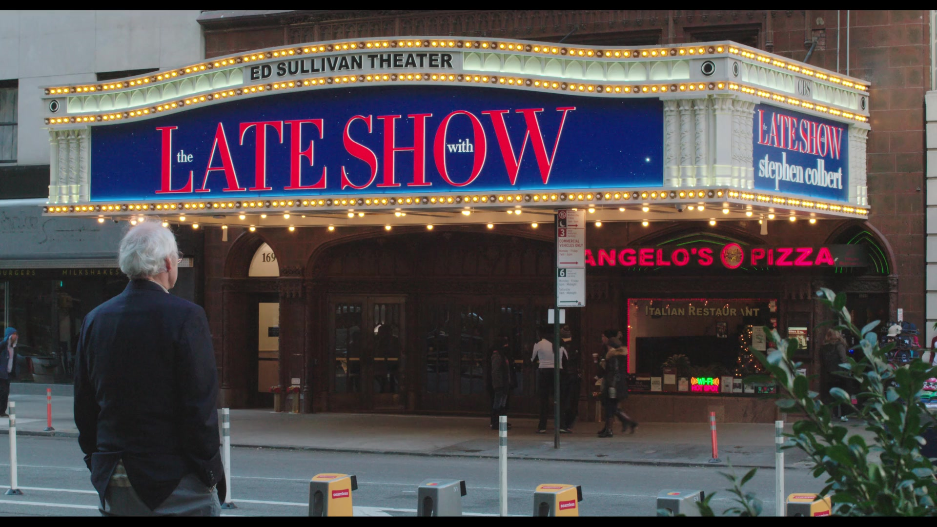 Ed Sullivan Theater And The Late Show With Stephen Colbert In The