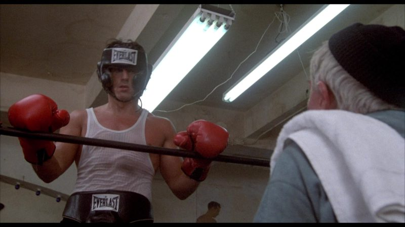 Everlast Boxing Gear Worn by Sylvester Stallone in Rocky 2 (1979) - Movie Product Placement