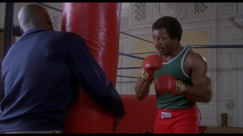 Everlast Boxing Gloves Worn by Carl Weathers (Apollo Creed) in Rocky 2 (1979) - Movie Product Placement