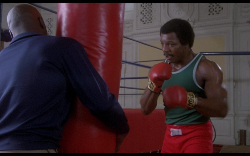 Everlast Boxing Gloves Worn by Carl Weathers (Apollo Creed) in Rocky 2