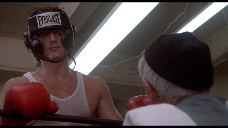 Everlast Boxing Headgear Worn by Sylvester Stallone (Rocky Balboa) in Rocky 2 (1979) - Movie Product Placement