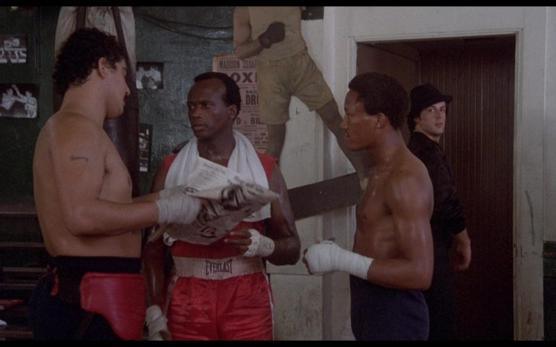 Everlast Boxing Shorts Worn by Actor in Rocky 2