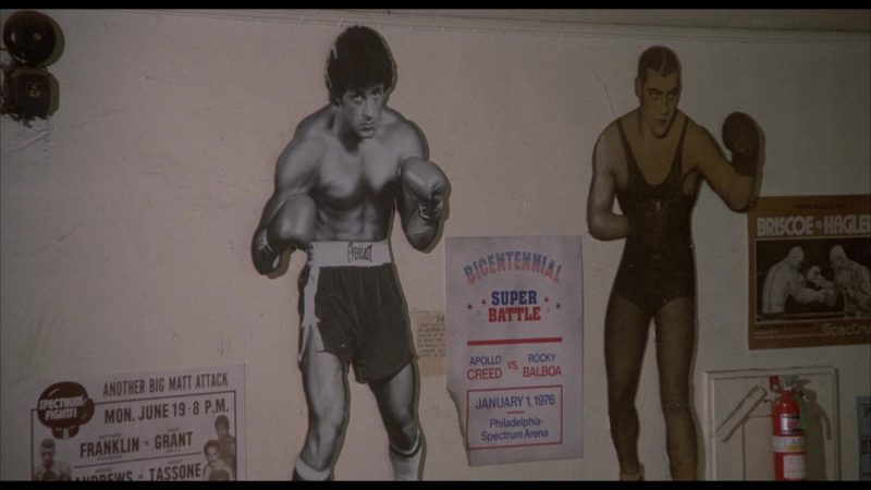 Everlast Boxing Shorts Worn by Sylvester Stallone (Rocky Balboa) in Rocky 2 (1979) - Movie Product Placement