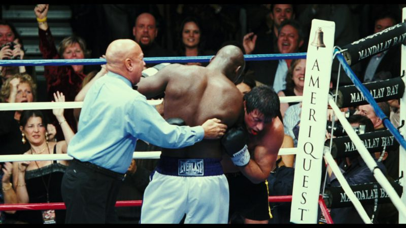 Everlast Shorts Worn by Antonio Tarver and Ameriquest Mortgage in Rocky Balboa (2006) Movie Product Placement