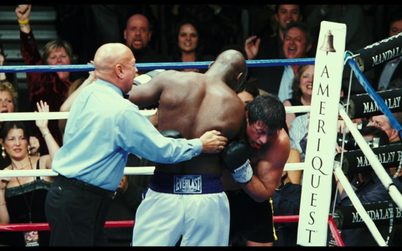 Everlast Shorts Worn by Antonio Tarver and Ameriquest Mortgage in Rocky Balboa
