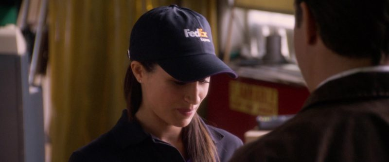 FedEx Express Cap Worn by Meghan Markle in Horrible Bosses (2011) - Movie Product Placement