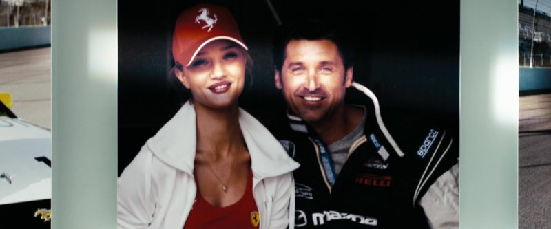 Ferrari Cap Worn by Rosie Huntington-Whiteley in Transformers: Dark of the Moon (2011) - Movie Product Placement