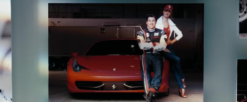 Ferrari and Sparco in Transformers: Dark of the Moon (2011) - Movie Product Placement