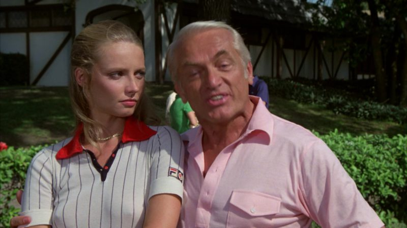 Fila Ladies Short Sleeve Shirt Worn by Cindy Morgan in Caddyshack (1980) Movie Product Placement