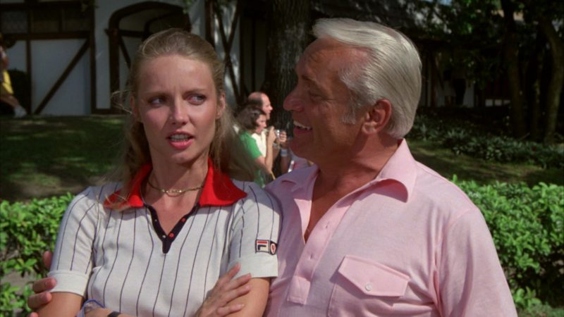 Fila Ladies Short Sleeve Shirt Worn by Cindy Morgan in Caddyshack (1980) - Movie Product Placement