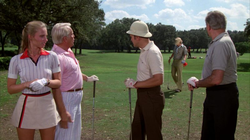 Fila Women's Polo Shirt and Skirt Worn by Cindy Morgan in Caddyshack (1980) - Movie Product Placement