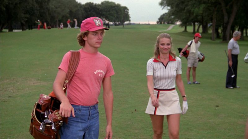 Fila Women's Polo Shirt and Skirt Worn by Cindy Morgan in Caddyshack (1980) Movie Product Placement
