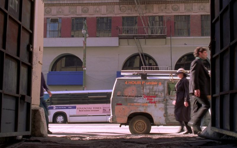 Financial Times Newspaper Bus Advertising in Spider-Man