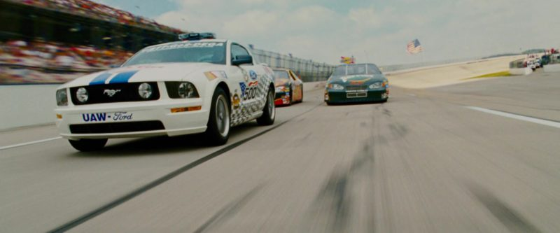 Ford Mustang Car in Talladega Nights: The Ballad of Ricky Bobby (2006) - Movie Product Placement