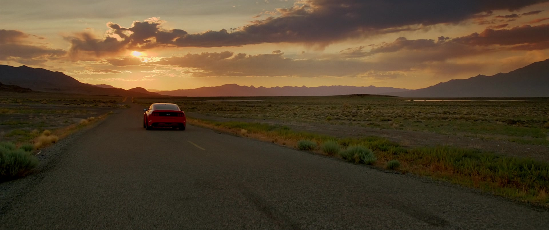 Ford Mustang Red Car Driven By Imogen Poots In Need For