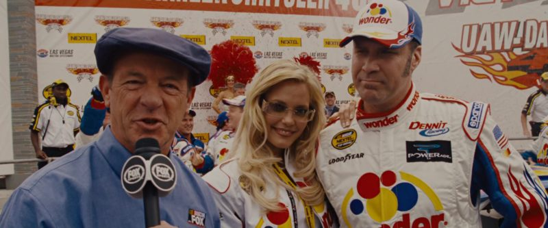 Fox Sports, Nextel, Wonder Bread, Powerade, Goodyear, Sparco in Talladega Nights: The Ballad of Ricky Bobby (2006) - Movie Product Placement