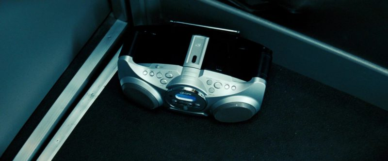 GPX CD and Radio Boombox in Transformers (2007) - Movie Product Placement