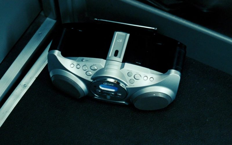 GPX CD and Radio Boombox in Transformers (1)