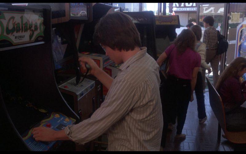 Galaga Midway Arcade Game in WarGames (1)