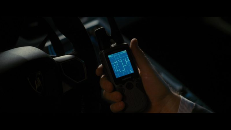 Garmin GPS in The Dark Knight Rises (2012) - Movie Product Placement
