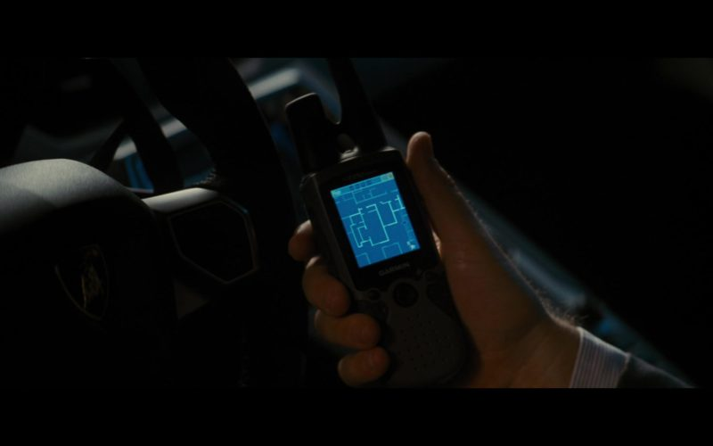 Garmin GPS in The Dark Knight Rises