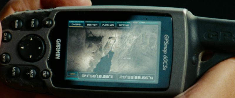 Garmin GPSMAP 60CSx in Transformers: Revenge of the Fallen (2009) - Movie Product Placement