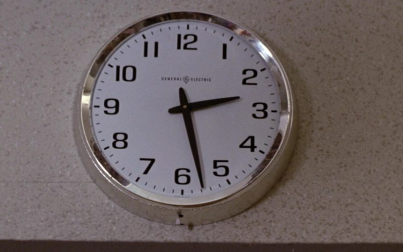 General Electric Wall Clock in Time After Time