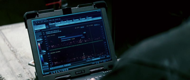 Getac Laptop Used by Ving Rhames in Mission: Impossible III (2006) - Movie Product Placement