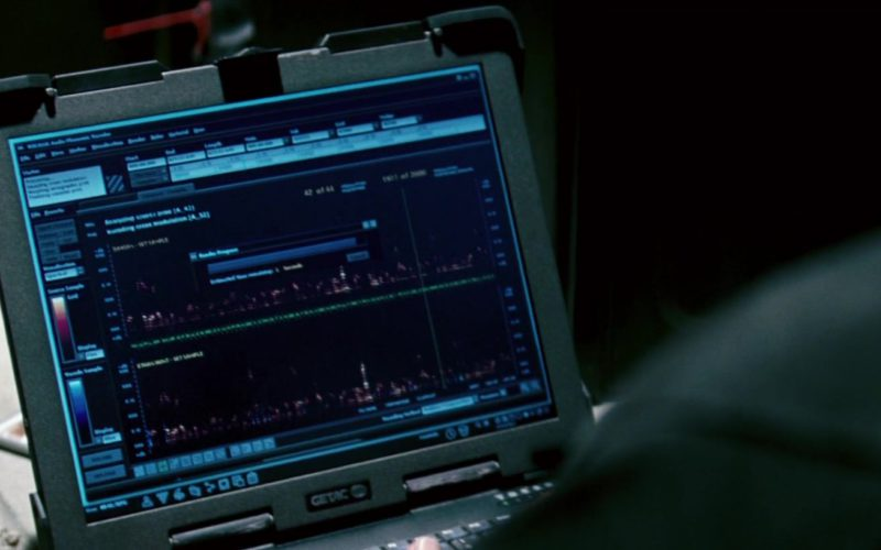 Getac Laptop Used by Ving Rhames in Mission Impossible