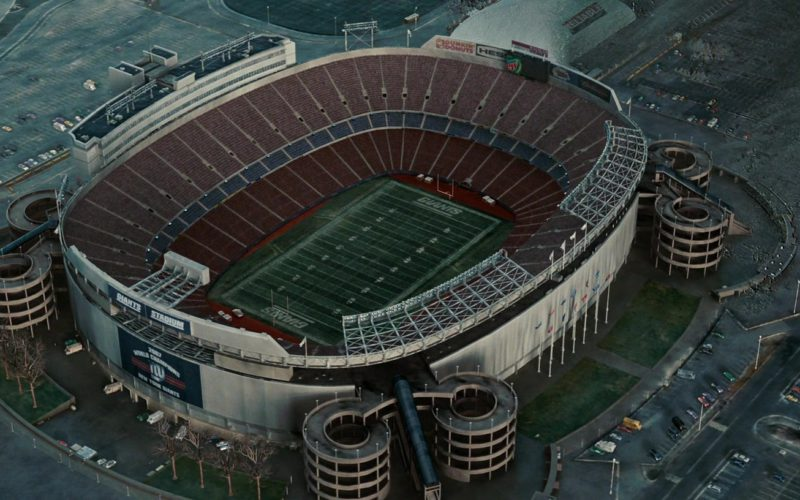 Giants Stadium in The Day the Earth Stood Still (1)