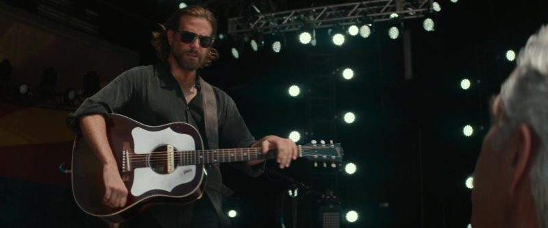 Gibson Guitar Used by Bradley Cooper in A Star Is Born (2018) - Movie Product Placement