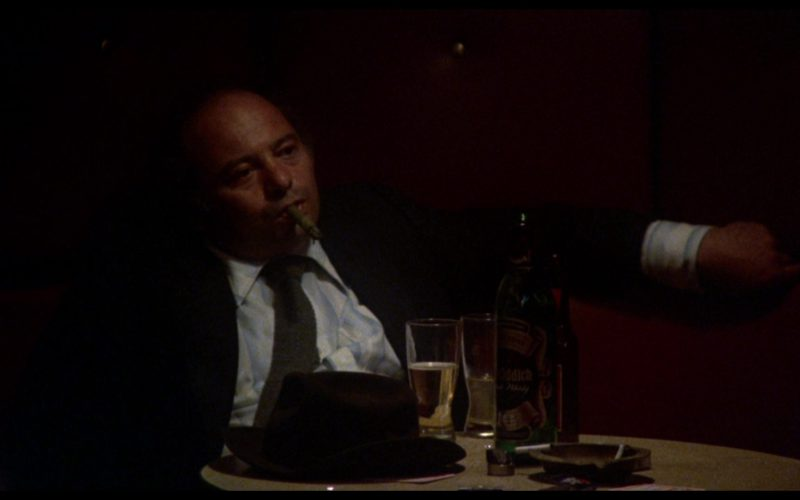 Glenfiddich Whisky Drunk by Burt Young (Paulie Pennino) in Rocky 3 (1)