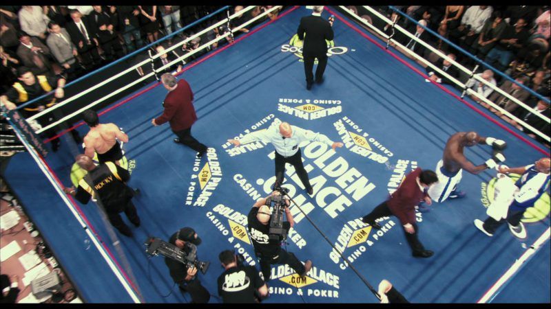 Golden Palace (Online Casino & Poker) Boxing Ring in Rocky Balboa (2006) Movie Product Placement