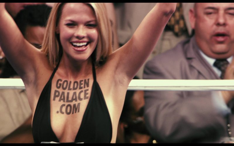 GoldenPalace.com Online Casino Website Domain Tattoo in Rocky Balboa